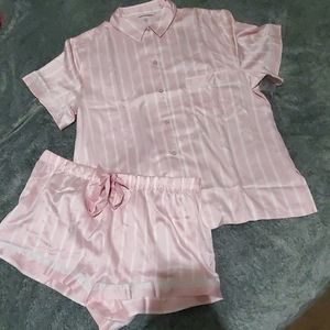 Victoria's Secret Satin PJ Short Set